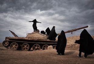 Overlooking Iraq from Iran
