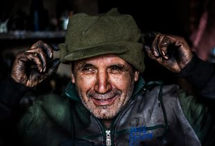 A mechanic, brutal job, kind heart.