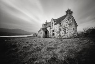 Abandoned cottage, Arivruaich, Outer Hebrides