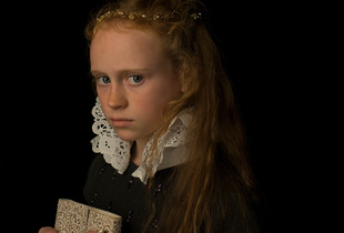 Portrait of a Young Noble Girl