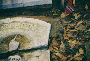 Spartanburg - Confederate gravestone