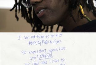 """I am not trying to be that angry black girl."""