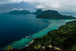 view of Sakaran Marine Park