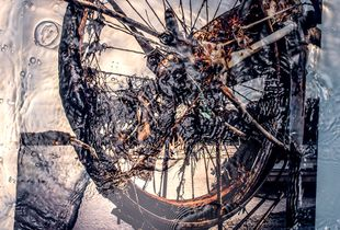 AS THE WAVES RECEDED 7 images from the Tohoku Tsunami......Bicycle
