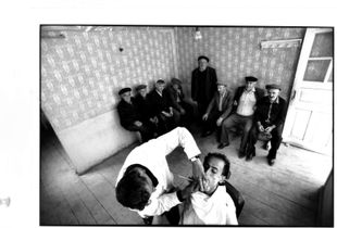 Guetachen village - in the Caucasus - Barber shop