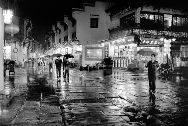 Wet Night  Shopping