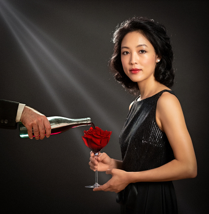 MY LOVE IS LIKE RED ROSE