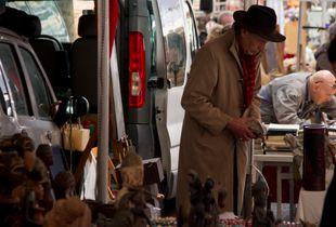 Al mercato di Porta Portese