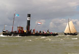 Dutch classic tugboat