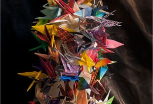 Cylinder, Paper birds,