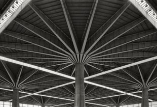 Palazzo del Lavoro, Torino, Italy -  (inside) #findingpierluiginerviproject