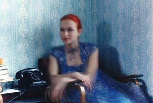 Portrait in the interior / Alexandra
