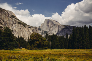 Half the Dome from the Cooks Meadow