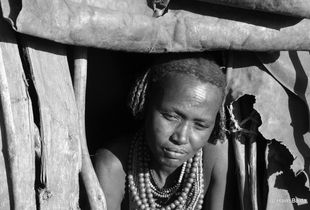 Ethiopian old lady