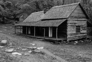 Dawn Breaks at Ogle's Cabin