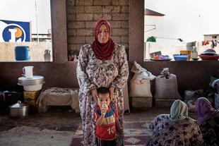 Being refugee women