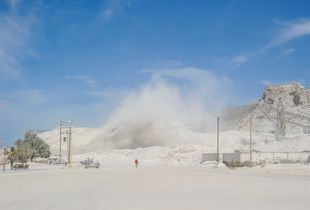 San Marcos Gypsum Mining Town