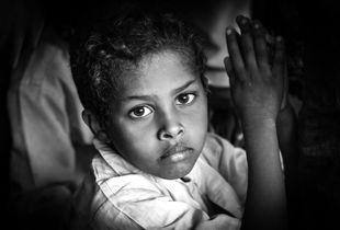 Boy in Refugee-Camp Abuda/Sudan