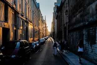 A Walk in the Old Paris
