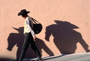 cowboy shadows