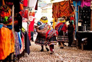 Market day in Cusco