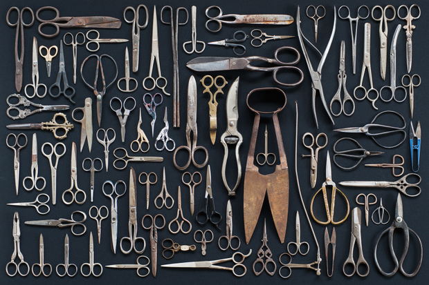 Collections of scissors