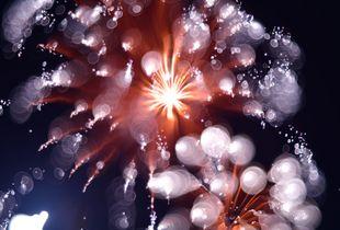 Art fireworks [bubbles]