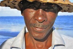 Fisher in Kenia