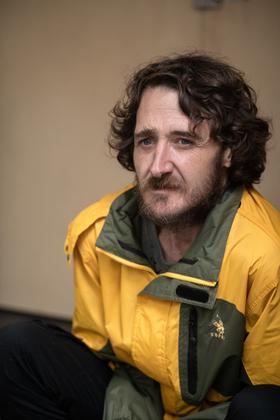 John.1 - Triptych of Homeless Man