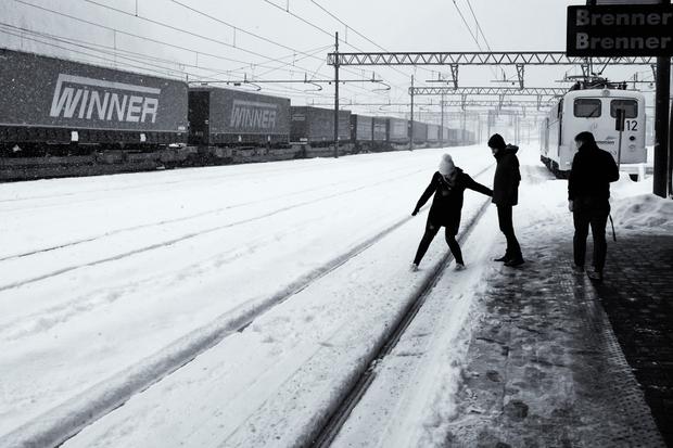 Stop at Brenner station.