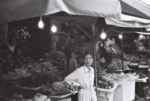 A Vietnamese fruits seller