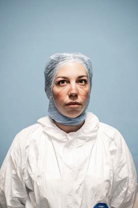 Olivia Giorgi, Intensive Care Unit nurse - San Salvatore Covid Hospital