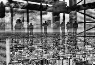 Ghosts above the City #1