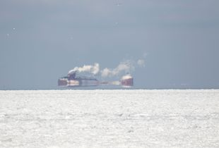 Lake Erie Ice & Freighters