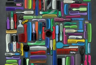 Combs, Brushes and Mirrors