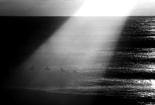 The halo of surfer
