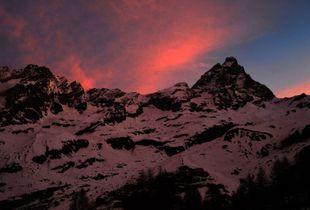 Sunrise in Breuil