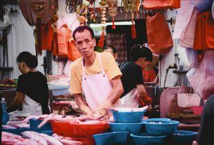 """A fishmonger"""