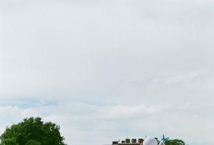 Kensington Palace Gardens, west London.
