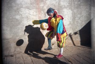 Clown, San Martin Tilcajete Oaxaca Mexico