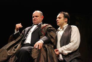 Kafka, The trial. Theatrical play written by Annig Raimondi.