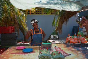 Vegetable Trader, Durban Inner City