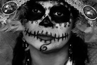 Faces of Día de los Muertos 1