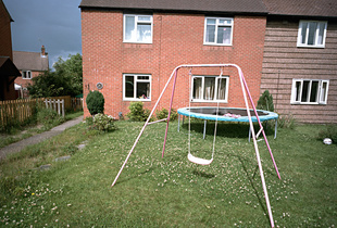 Front yard, Roundway Estate, Summer