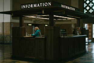 INT. DTLA Union Station - Day [How May I Help You?]