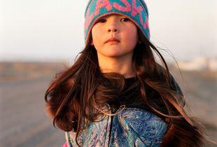 My daughter, Anna Kupaaq Oomittuk, Point Hope, Alaska, May 2017
