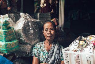 Padang Padang Bai fish market