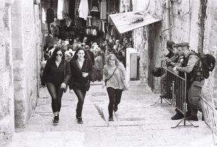 Good Friday Jerusalem Old City. 2017