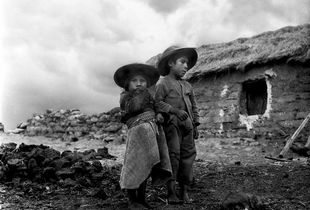Enfants k'ana, Hampatura, Cuzco, Pérou