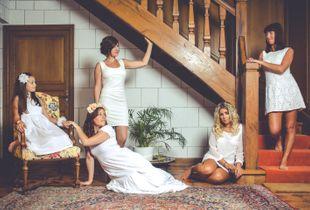Les 100 robes blanches - L'escalier 1